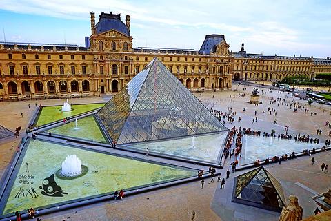 2016卢浮宫玻璃金字塔_旅游攻略_门票_地址_