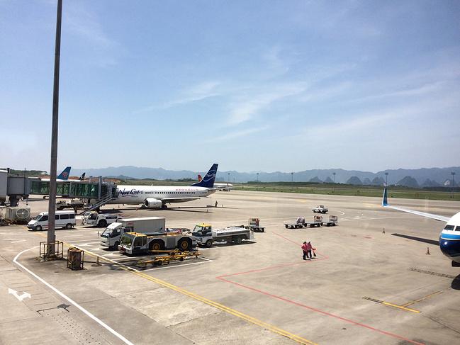 桂林两江国际机场图片