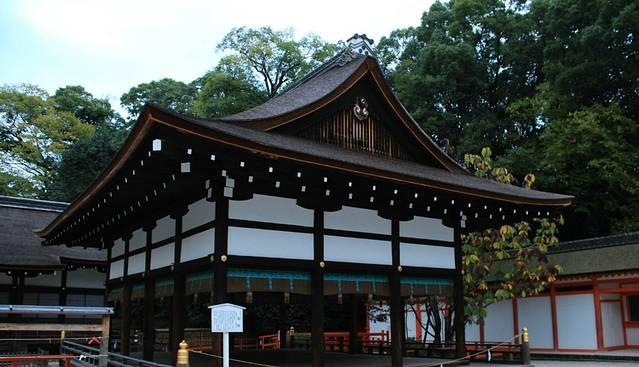 下鸭神社最初为日本古代
