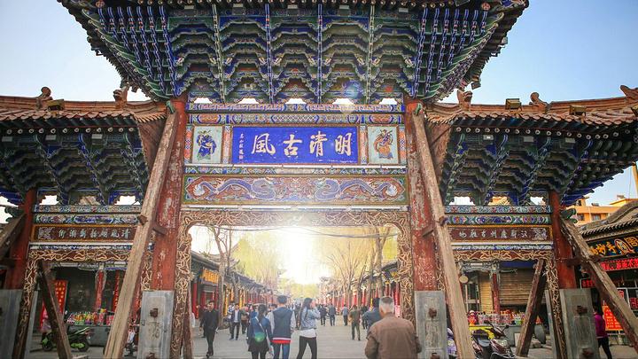 明清街和欧式街,是张掖市区两条比较特别的小街.