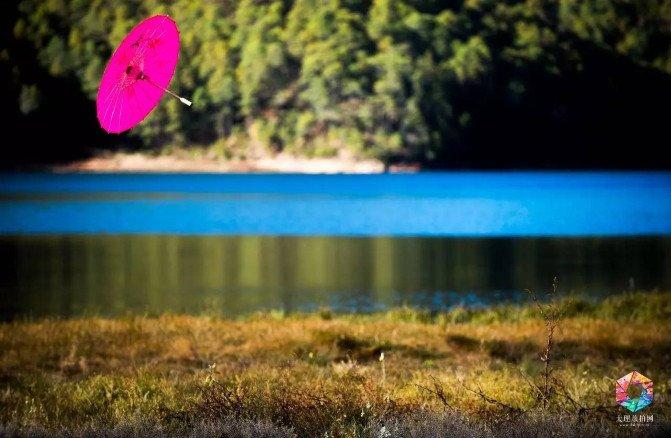 摄影点:天池自然保护区 选景理由:水面色彩湛蓝,周边常年生长着未知