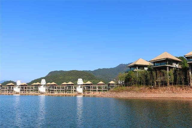 云和湖仙宫景区图片