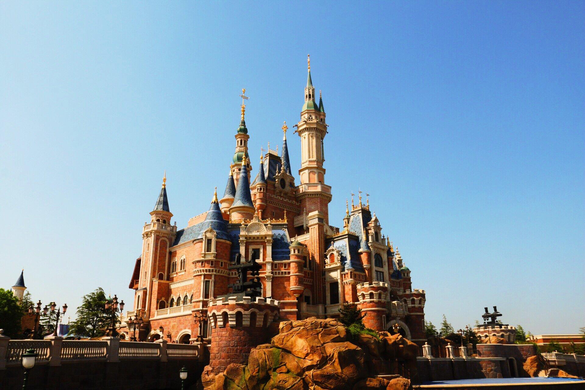 上海迪士尼乐园童话之旅