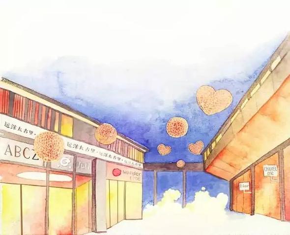 2017远洋太古里自身的建筑设计就独具一格,既建筑设计院面试v远洋题目图片