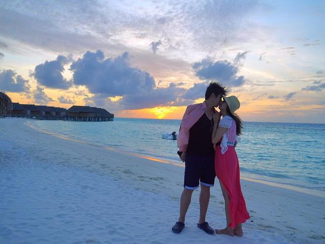 最美的时光不过是与你在海边看日出日落初上魔富士岛,纵观各处美景.