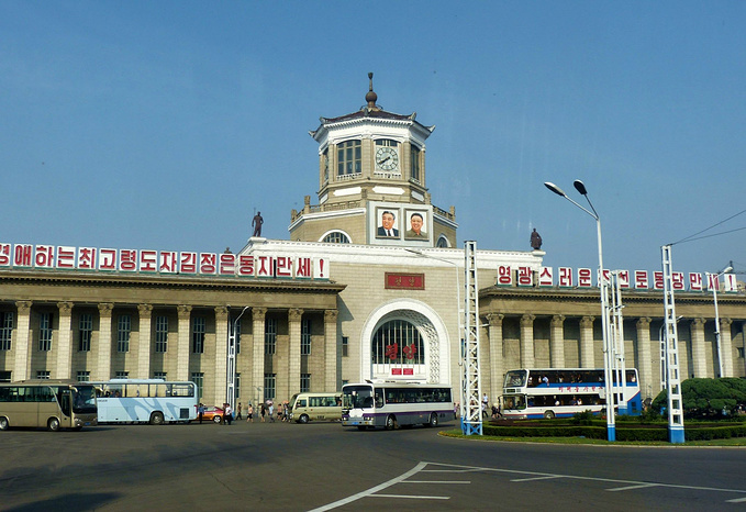 摄于朝鲜首都平壤
