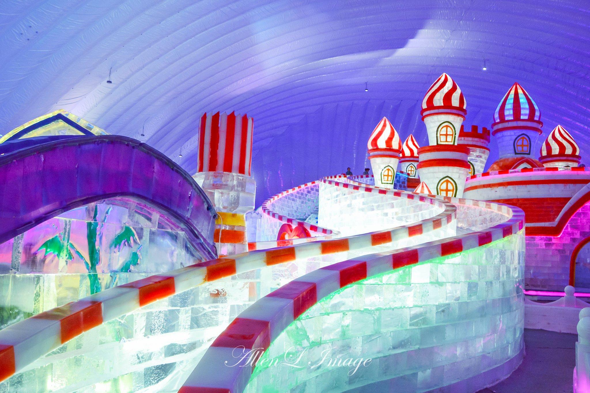 2019哈爾濱冰雪大世界室內冰雪主題樂園游玩攻略,據,.