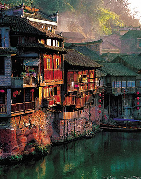 风景 古镇 建筑 旅游 摄影 284_360 竖版 竖屏
