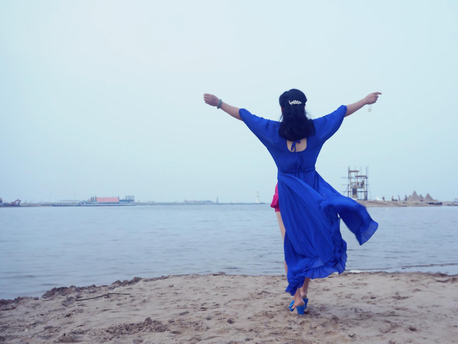"""京城附近的""""小马代""""--乐亭月岛之行"""