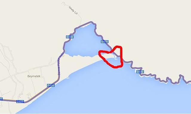土耳其卡什地图