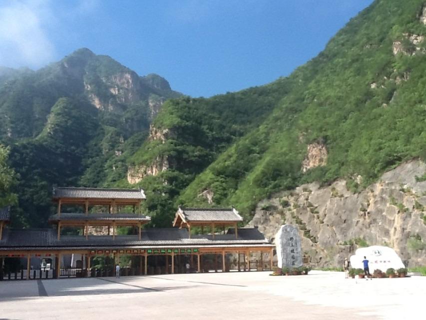 10:34山东人在海南岛 野三坡风景区,最主要的景点就是百里峡和鱼骨洞.