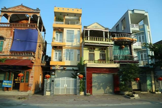 越南农村别墅图