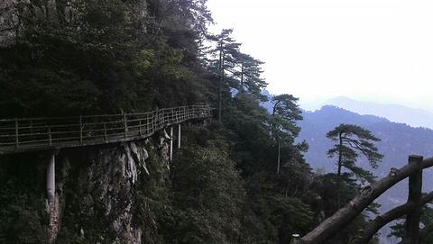 是集革命人文景观,自然风光和高山田园为一体的山岳型风景旅游区.