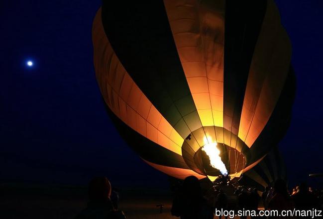 乘热气球看东非动物大迁徙图片