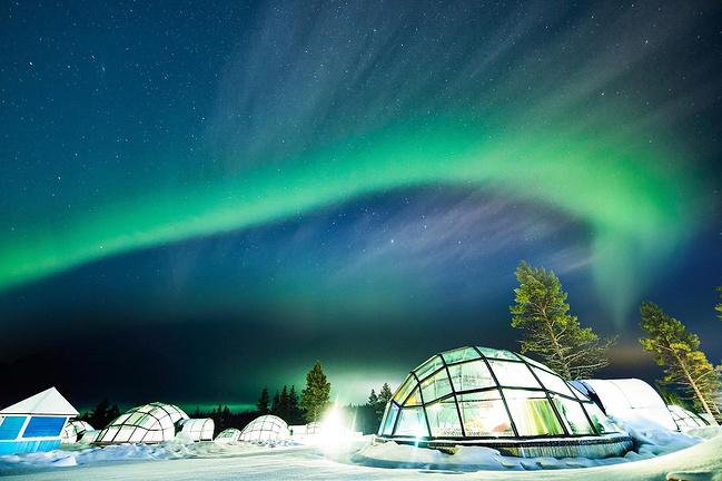 芬兰极光行-北极圈中1000km自驾游_赫尔辛基