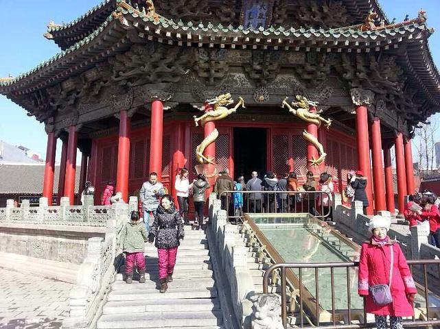 沈阳故宫是中国仅存最完整的的2大皇家宫殿.