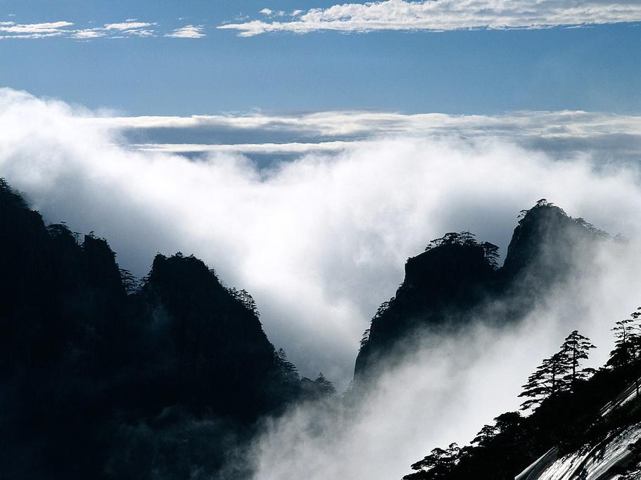 到黄山风景区游玩的可以顺道去九华山