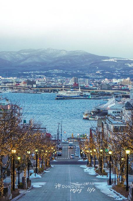 函馆八幡坂旅游景点图片