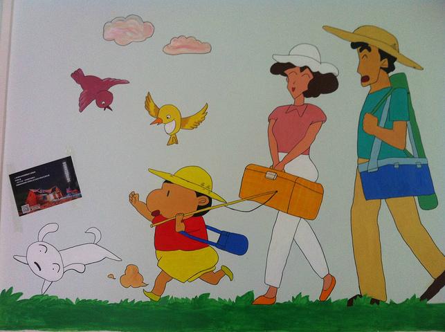 儿童手绘购物清单