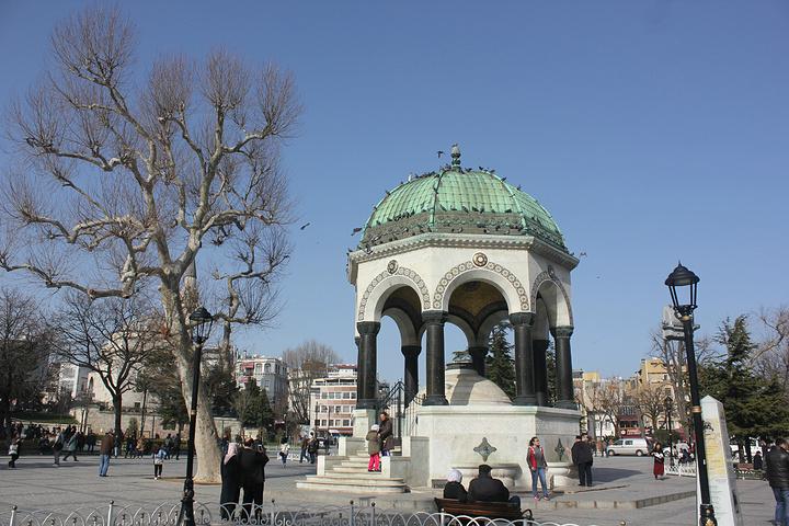 """""""广场是免费的参观的_塔克西姆广场""""的评论图片"""