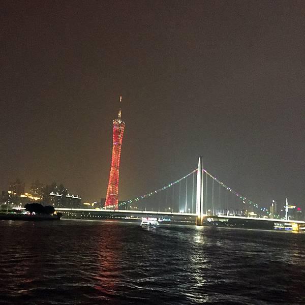 广州塔码头珠江夜游