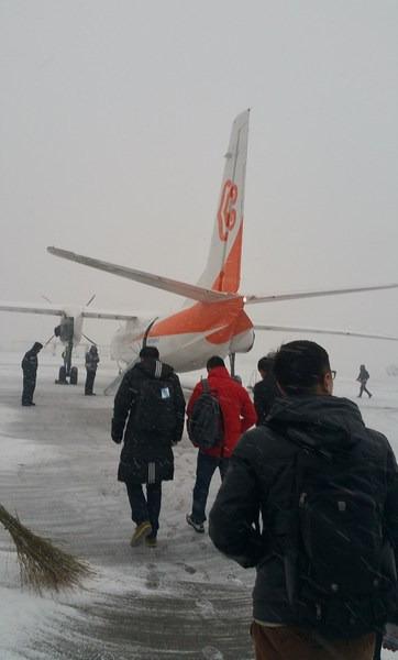 坐飞机去漠河喽图片
