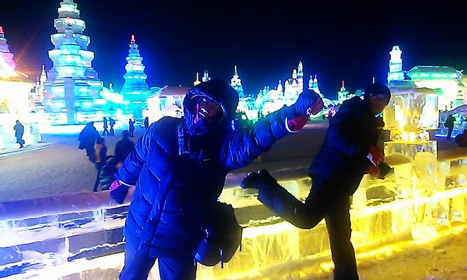 哈尔滨冰雪大世界图片图片