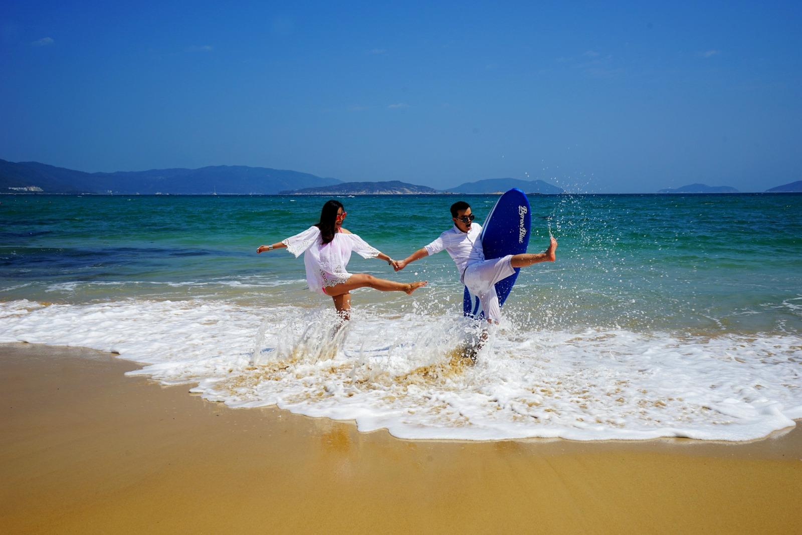 你若喜欢海,我就带你浪