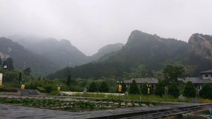 新奇体验露营河南信阳灵山风景区