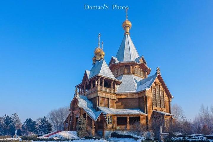 是老哈尔滨最早的地标性建筑