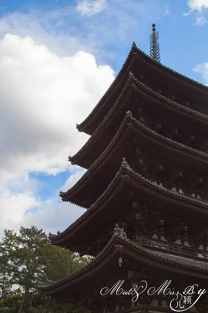 兴福寺的五重塔:在日本走向革新期的明治元年