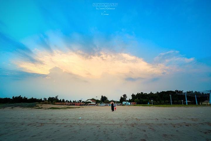 沙灘大海太陽微信頭像