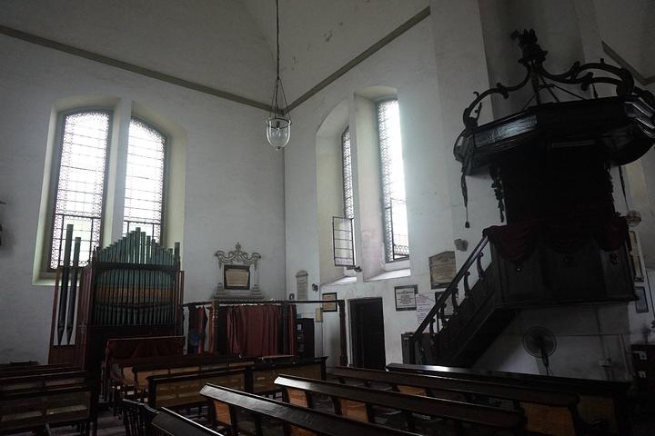"""""""第一次见十字形教堂,喜欢。_狼谷教堂""""的评论图片"""