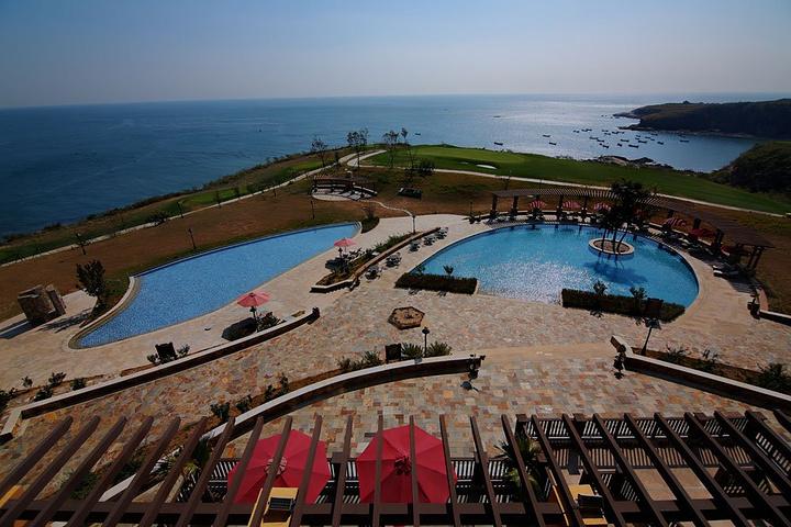 """""""没有拍酒店的照片, 这个竟然忘了_大连海昌广鹿岛度假酒店""""的评论"""
