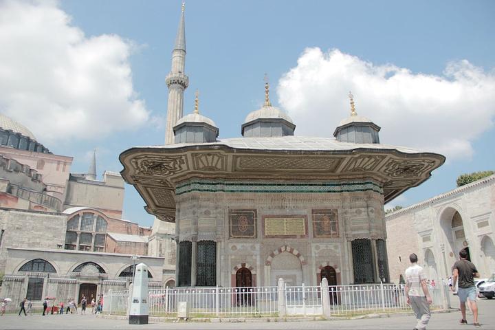 """""""托普卡普皇宫,是曾经奥斯曼帝国苏丹在城内..._托普卡帕宫""""的评论图片"""