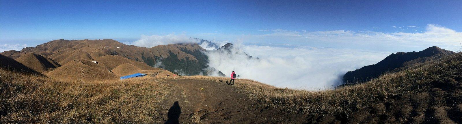 脚 反穿武功山 心 抵达云的另一端