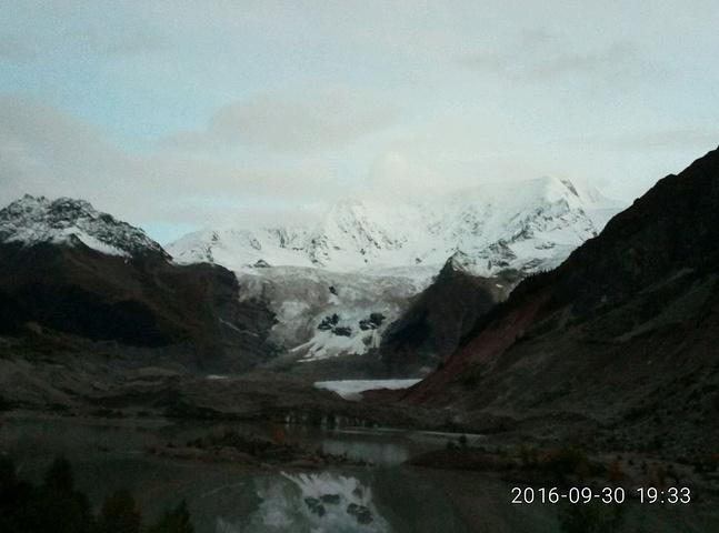 7当时觉得的马术只是拍照冰川非常漂亮,美美的时候培训班郑州图片