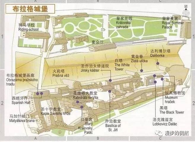 城堡平面图