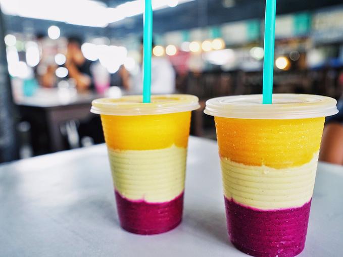 三色果汁_三色果汁图片