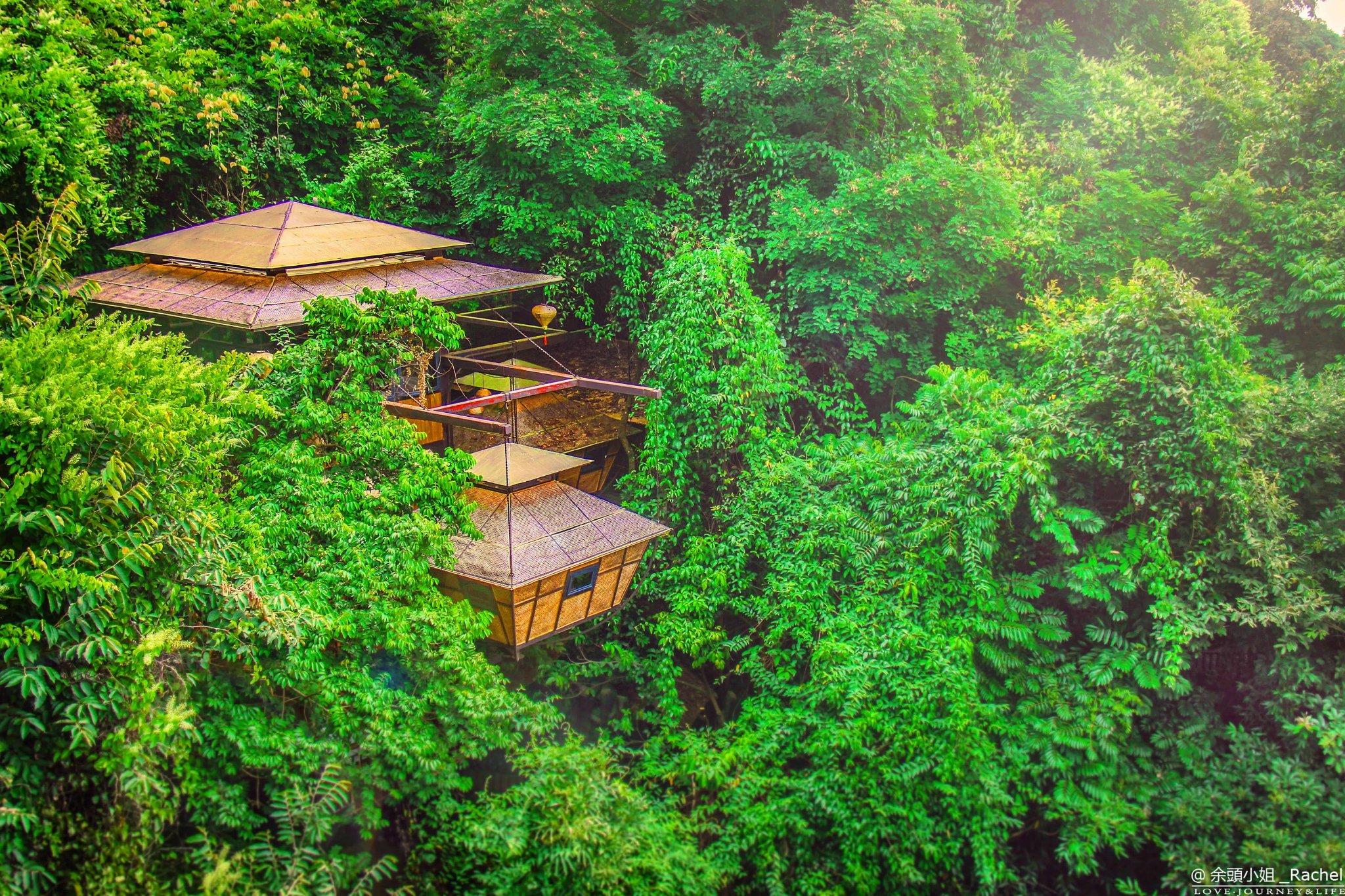 住温泉树屋,听泉水叮咚,在九州驿站尽享返璞归真的栖息之旅!