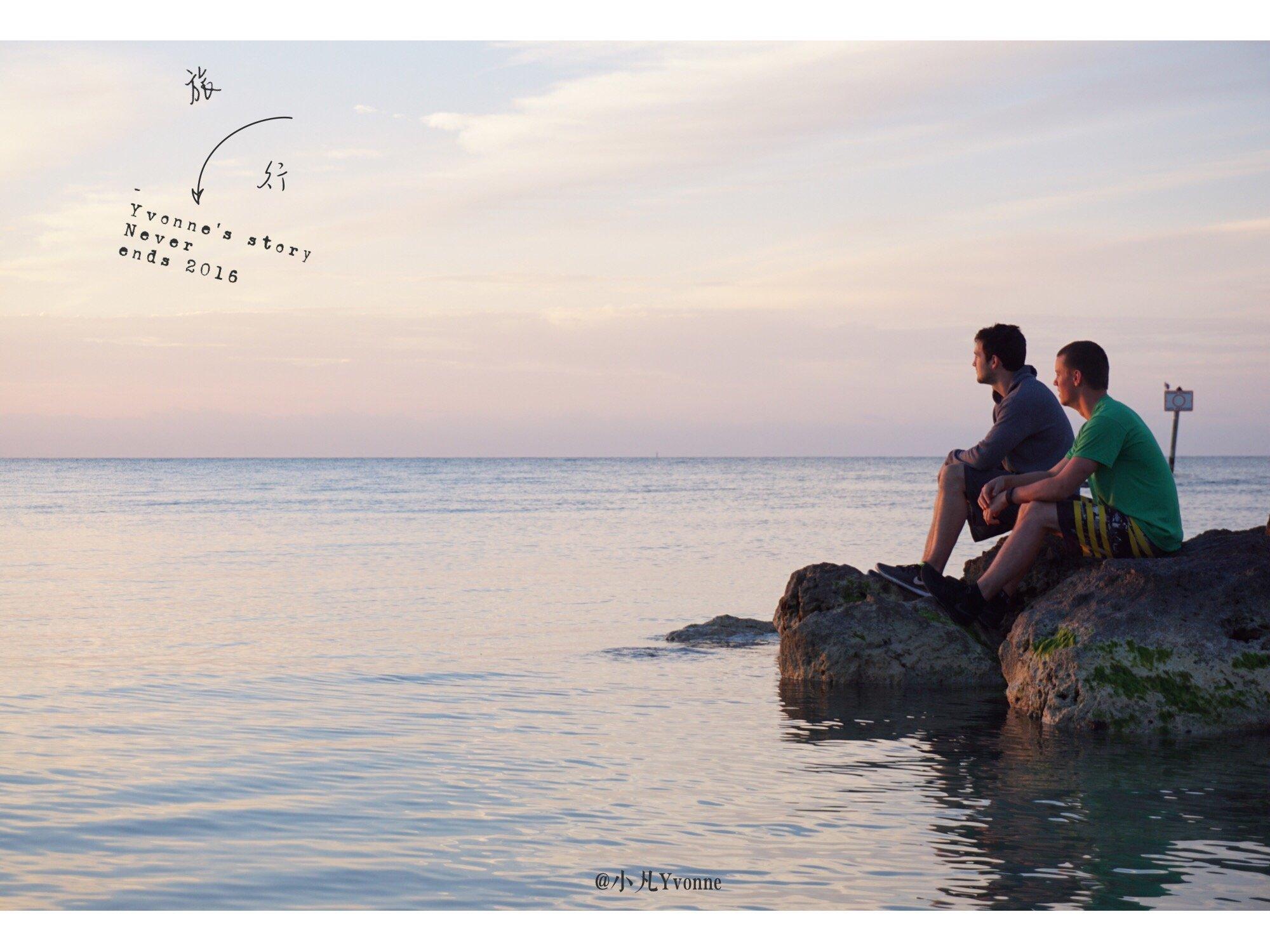 #老人与海# Key West绝美日出与日落