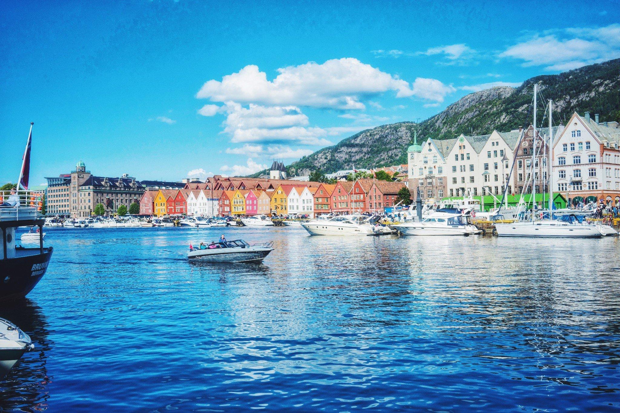 九月初的卑尔根  挪威不止森林,还有峡湾和卑尔根