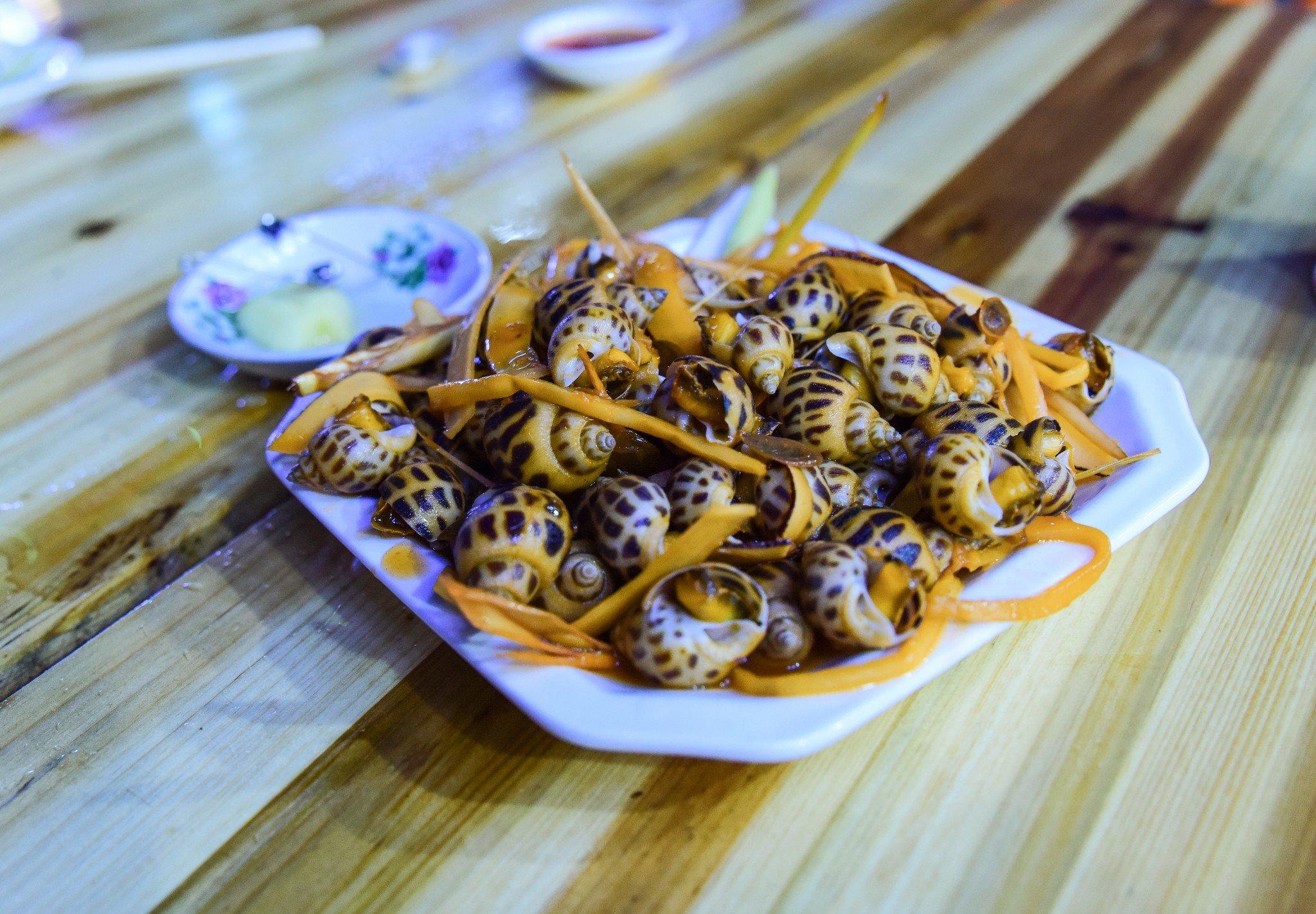 2018明翠炒螺店美食餐厅,一家这是极具凤城特西安越南二路美食图片