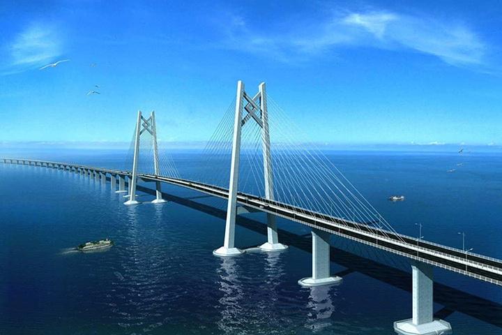 开启一个短时间就能随随便便游玩的三地之旅吧港珠澳大桥是连接港珠澳图片