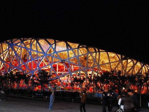 鸟巢(国家体育场)旅游景点图片