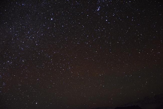 牛背山观日出赏星空