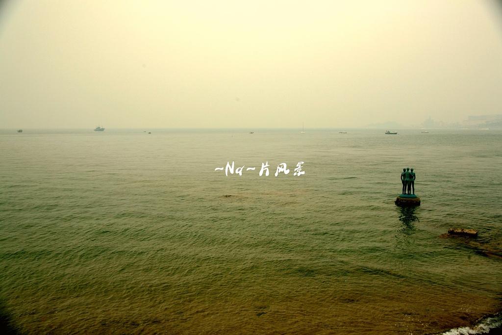 青岛海边背影图片大全