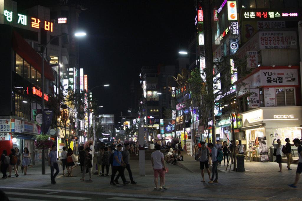 带着老婆去旅行:韩国单纯首尔购物游