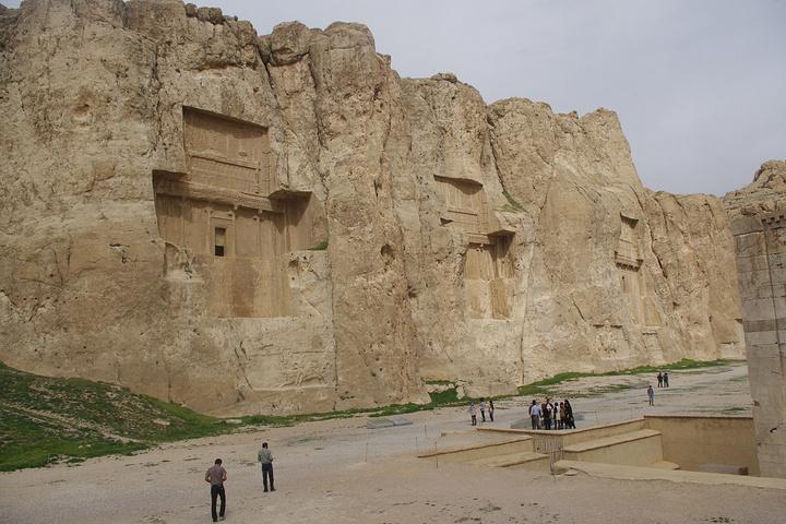 来,我们去攻略谷Naghsh-e-r._波斯帝陵和萨珊浮春节出游帝王香格里拉图片