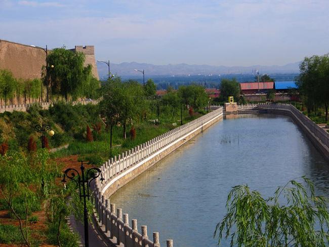 蔚县风景图片
